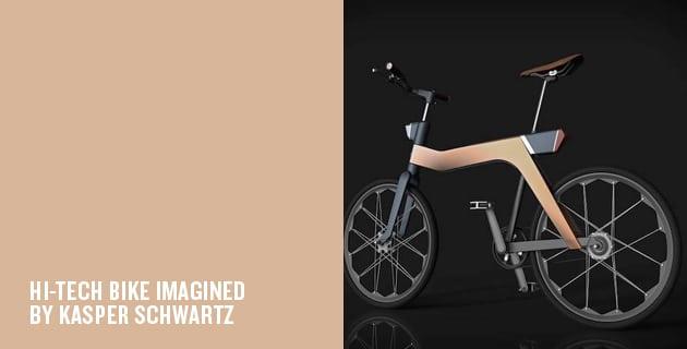 Modular Ruby Bike | KASPER SCHWARTZ