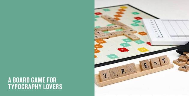 Typography Scrabble | Andrew Capener