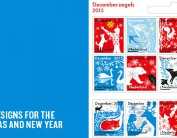 Decemberzegels | Tord Boontje designs narrative festive stamps
