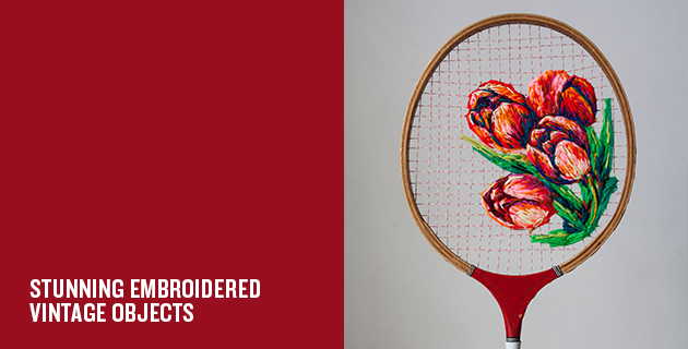 Racket Embroidery | Danielle Clough