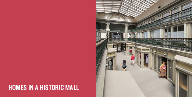 Arcade Providence Mall Renovation | Northeast Collaborative Architects