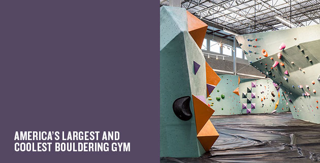 The Austin Bouldering Project | DJA Architects and Lilianne Steckel