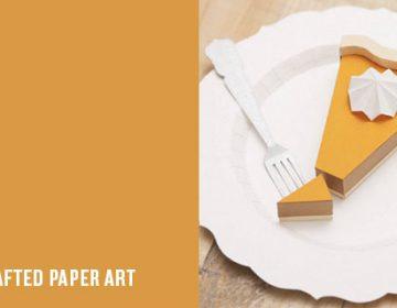 Paper Craft | Raya Sader Bujana