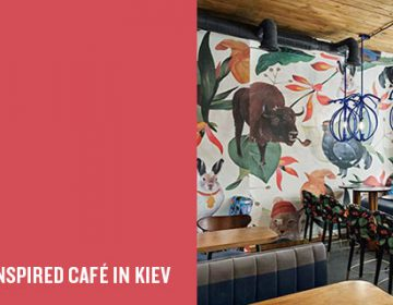 The Blue Cup Coffee Shop | Kley Design