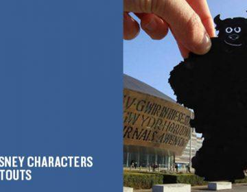 Transform Famous Landmarks Using Paper Cutouts