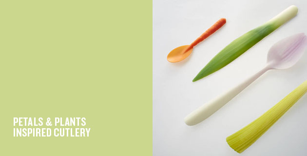 Petals & Plants Inspired Cutlery
