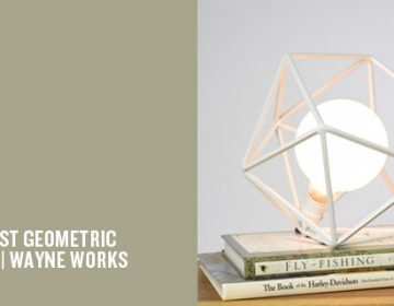 Minimalist Geometric Lighting | Wayne Works