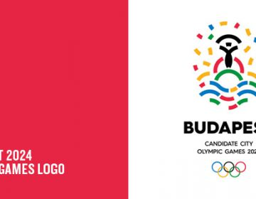 Budapest 2024 Olympic Games logo