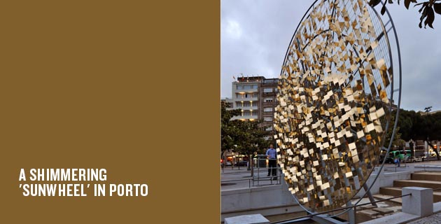 A Shimmering 'Sunwheel' In Porto