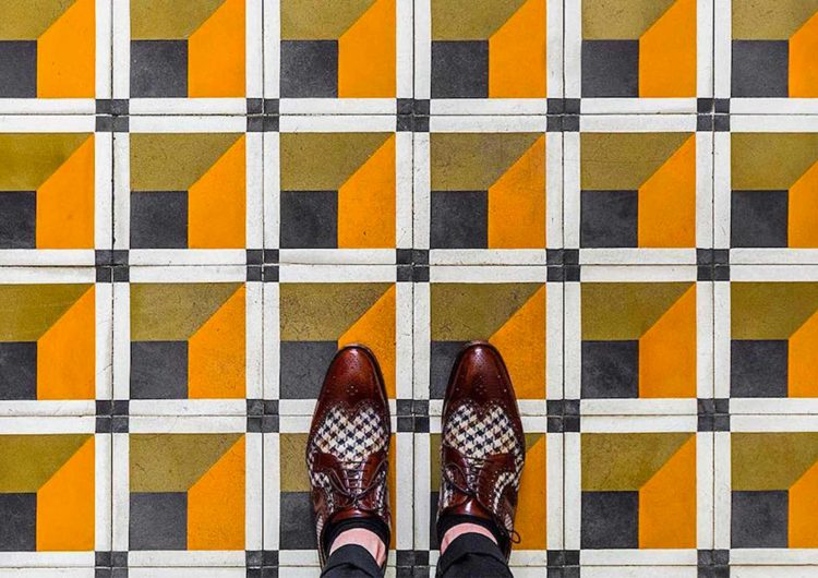Mosaic Floors captured by Sebastian Erras