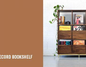 Korgis Record Bookshelf