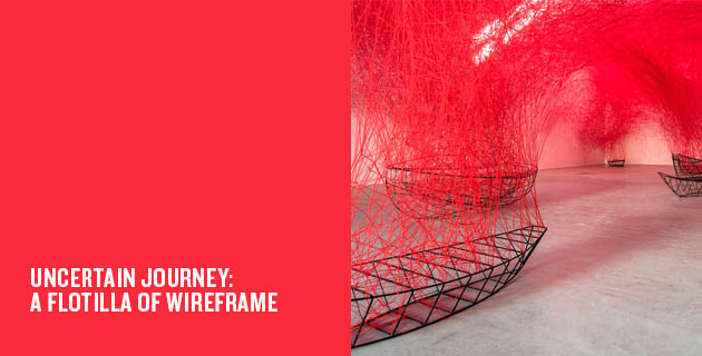 Uncertain Journey: A Flotilla of Wireframe