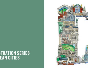 ABC illustration series of European cities