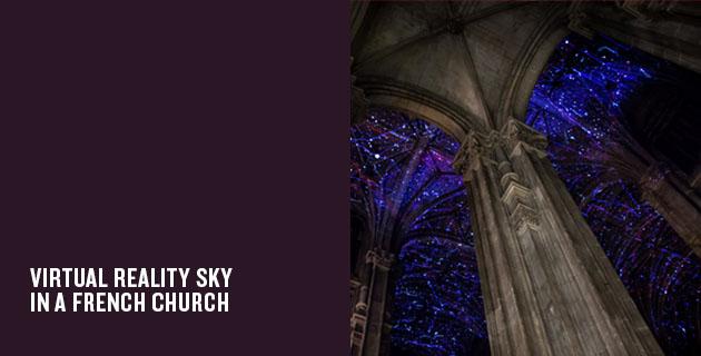 Virtual Reality Sky | Miguel Chevalier