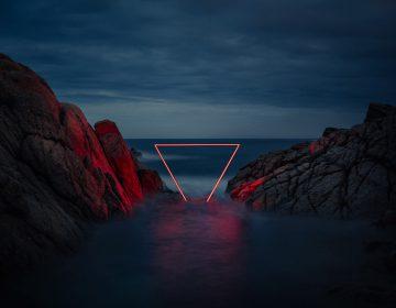 Geometric Light Installations