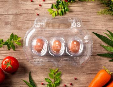 Inflatable Egg Packaging