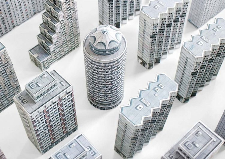 Paper Models | brut-iful architecture