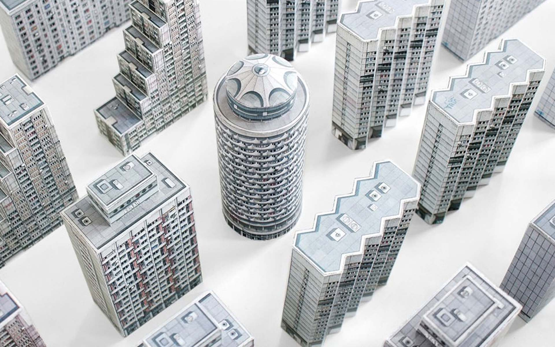 Paper Models | brut-iful architecture - Feel Desain | your