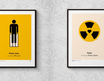 Pictogram music posters 2017