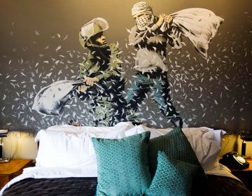 "Banksy's Art In Hotel With World's ""Worst View"""