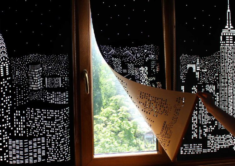 Turn Your Windows Into Nighttime Cityscapes