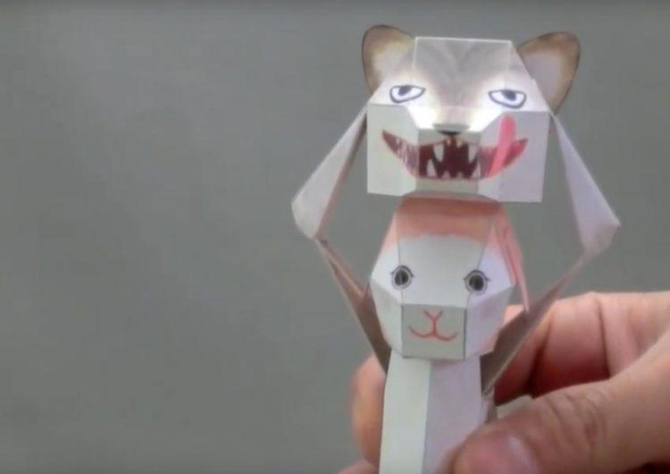 Fun Paper Kirigami and Karakuri Puppets