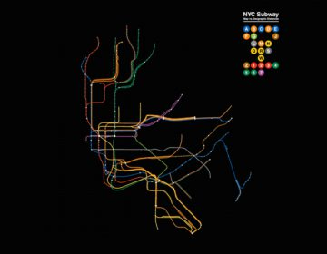 Animated Subway Maps Compared to Their Actual Geography