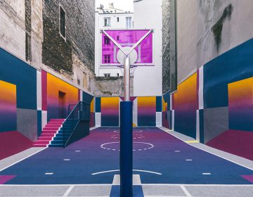 Pigalle Basketball Court and Ill Studio