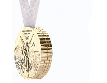 Philippe Starck's medals for Paris 2024 Olympic Game