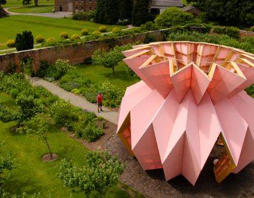 "Studio Morison present the new pavillon: ""Look! Look! Look!"""