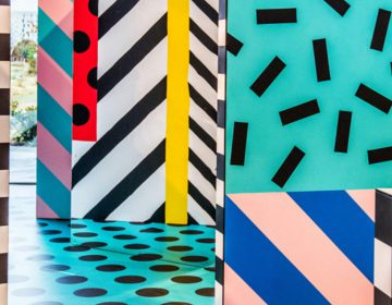 Camille Walala  and her eye-popping interactive installation