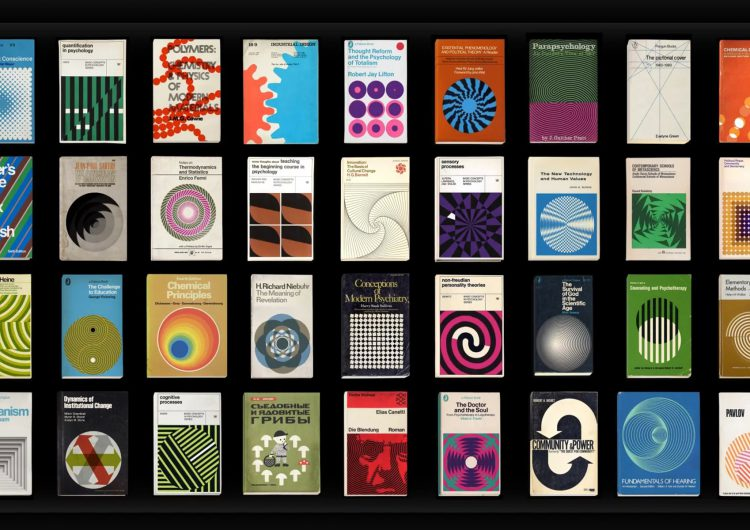More Covers | A series of 36 animated vintage book graphics