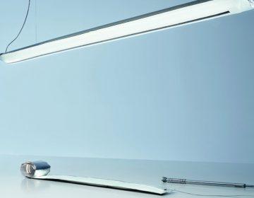 Ingo Maurer's Blow Me Up inflatable LED light