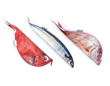 Anatomical fish pencilcase by Keiko Otsuhata