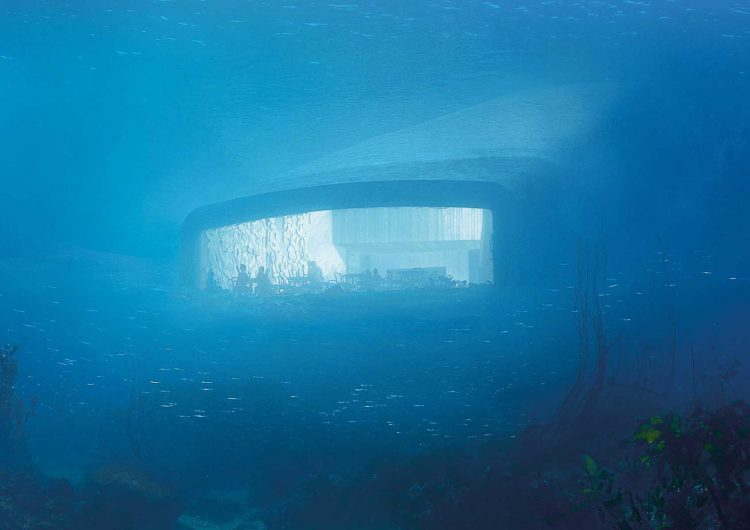 Under | the first underwater restaurant in Europe