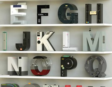 Vinicius Araújo synthesizes technology and typography