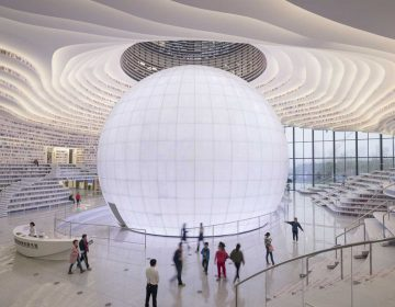 Breathtaking library in China by MVRDV