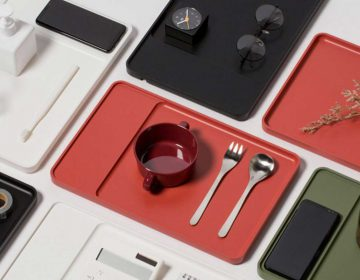 Design objects with wireless-charging technology by Pesi