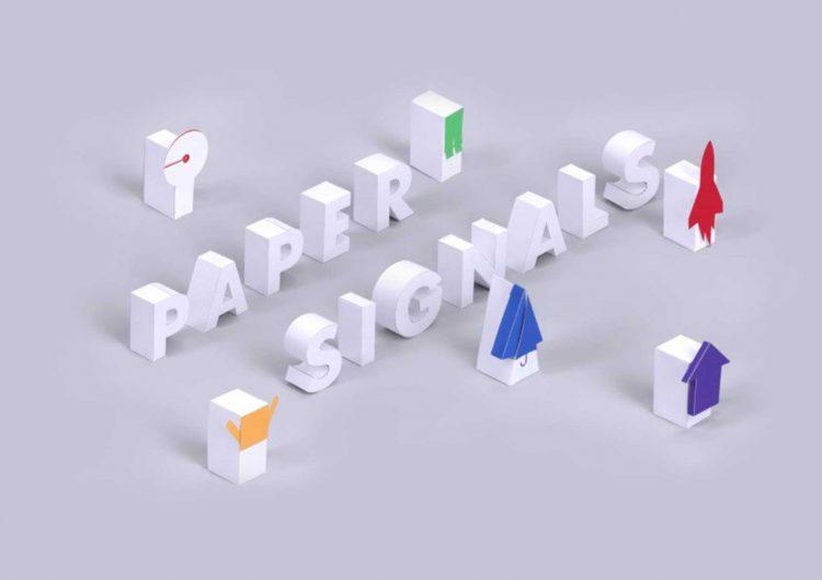 Paper Signals, a voice experiment