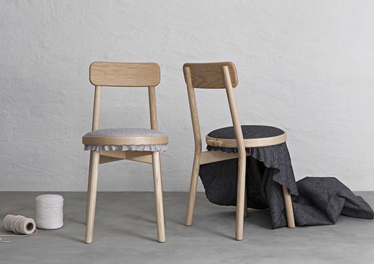 Swedish design firm Stoft Studio creates Canvas Chair
