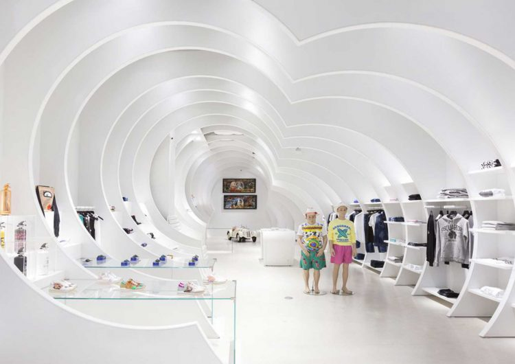 """In-sight"" a new concept store designed by OHLAB"