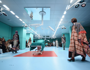 Milano Fashion Week 2018: Gucci Fashion Show In A Operating Room