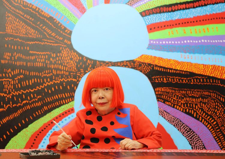 See inside the amazing Yayoi Kusama Museum in Tokyo