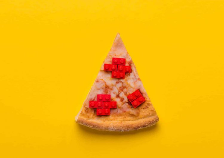 Playful Lego Food Project