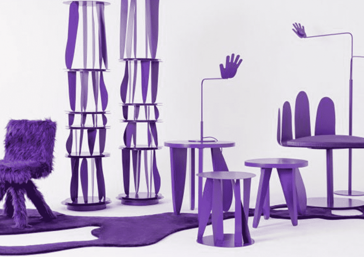 Crosby Studios' Purple Furniture Collection
