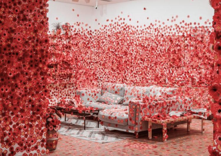 Yayoi Kusama's Flower Obsession