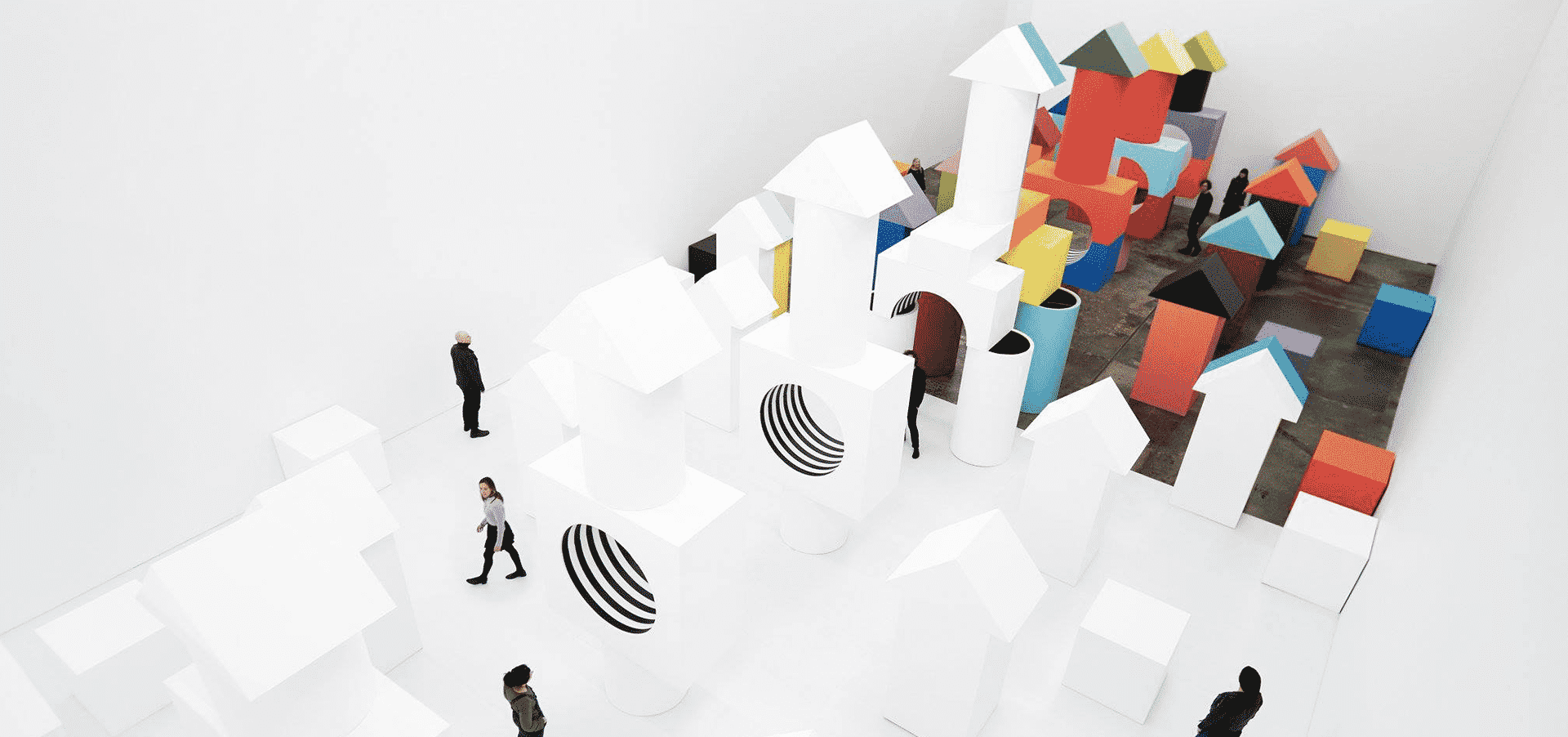 New Geometric Art Exhibition By Daniel Buren