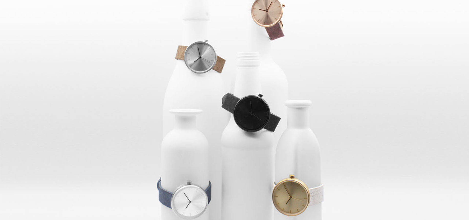 Wristwatches Dyed With Wine Designed By Analog Watch Co.