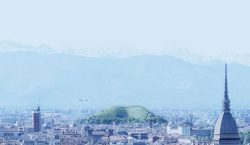 Artificial 'Sponge Mountain' In Turin To Absorbs CO2 Emissions