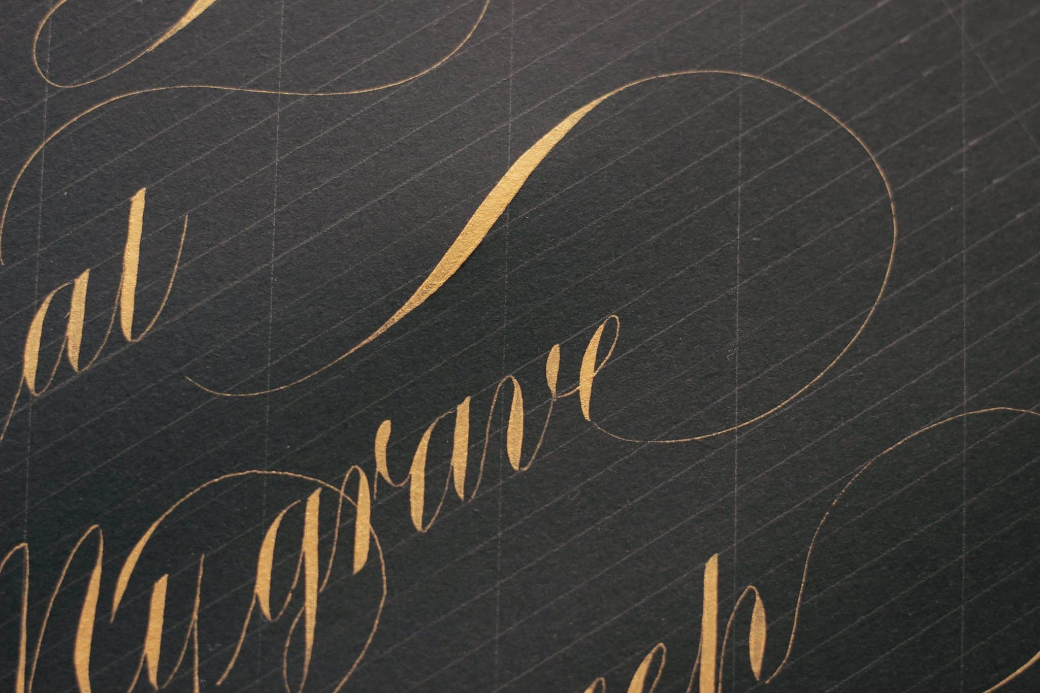Beautiful lettering by Tri Shiba
